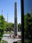 Walled Obelisk in the Hippodrome from Hotel Alzer