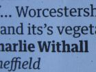 Apostrophe problem in Friday 1 June Guardian